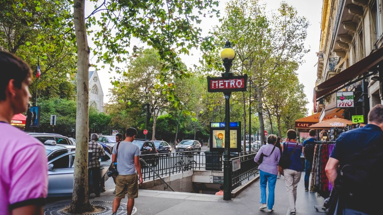 Sep16 | Parisian Metro