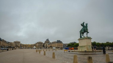 Sep16 | The Palace of Versailles front grounds