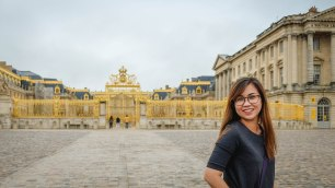 "Sep16 | ""Gate of Honour"" at the Palace of Versailles"