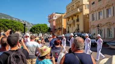 Sep16   Changing of Guards at the City State of Monaco