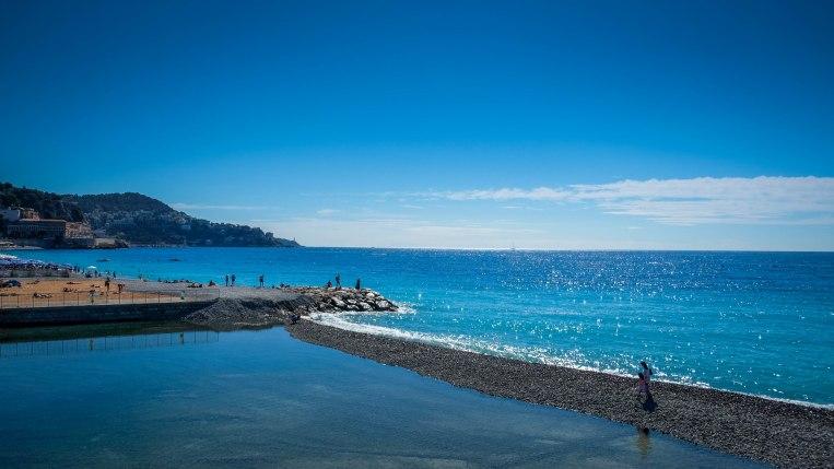 Sep16   The beautiful Nice coast