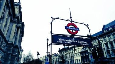 Dec14 | Westminster Underground Station