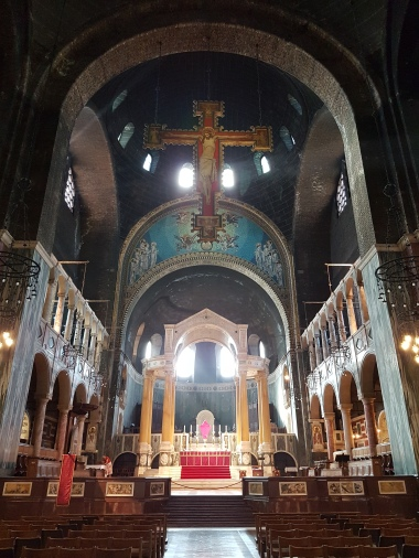 Inside Westminster Cathedral