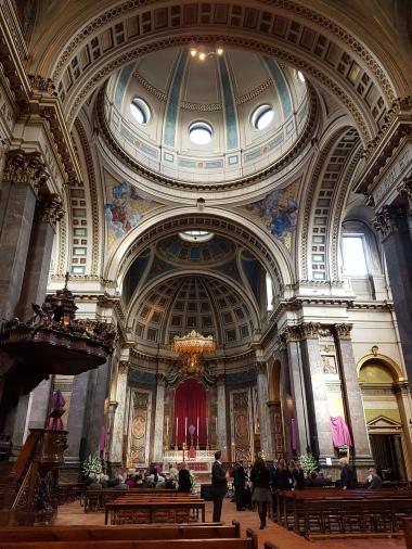 Inside Brompton Oratory