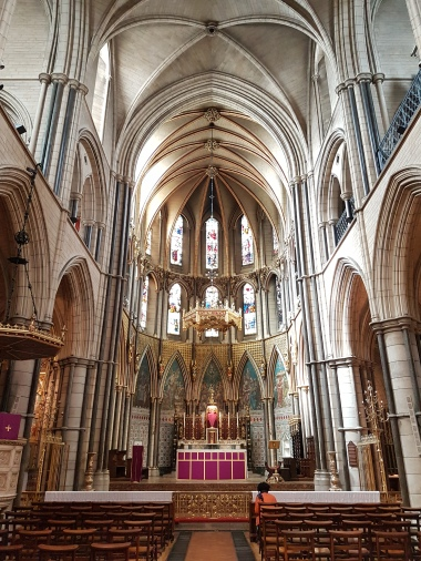 Inside St. James' Church
