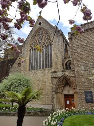 Side Entrance of Farm Street Church
