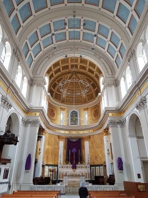 Inside St. Patrick's Church